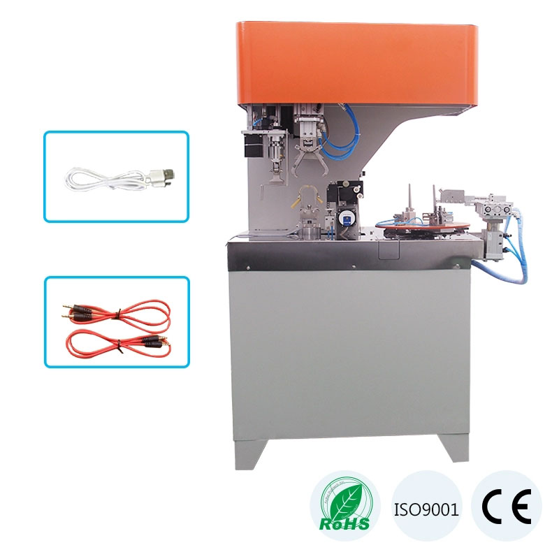 Fully Automatic 8 Letter Cable Wire Coiling Tying Machine WPM-40XL