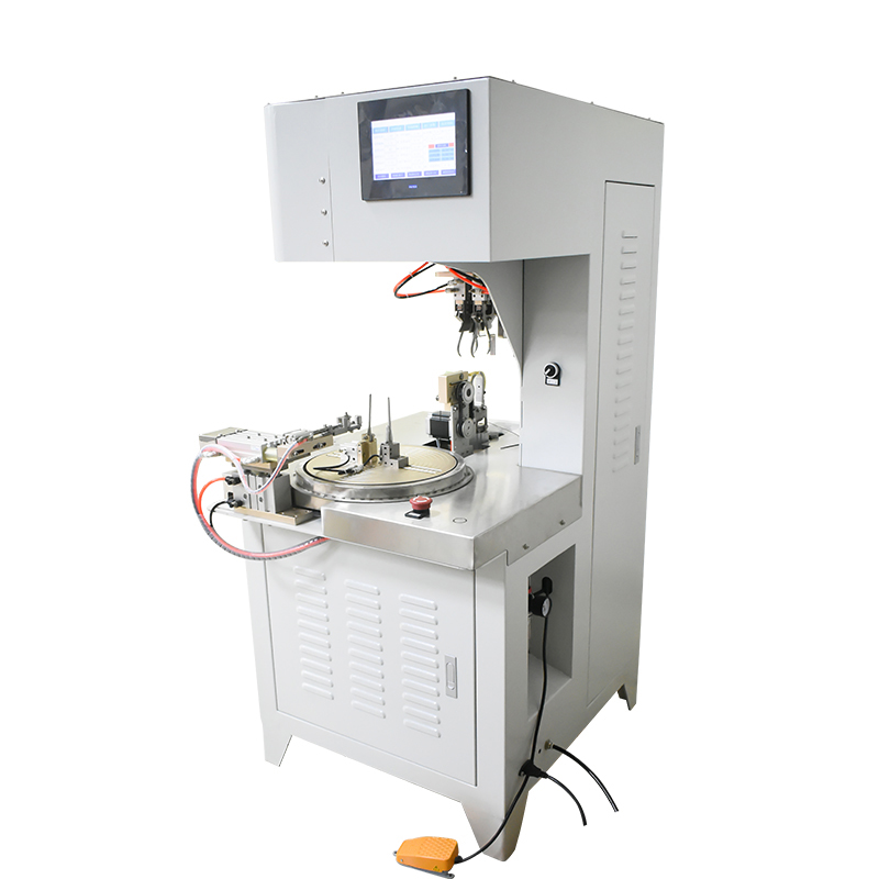 High speed automatic 8 Shape Wire Winding and Tying Machine for Thick Wires WPM-81B