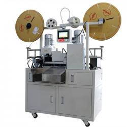 Full Automatic Flat Cable Wire Dividing Cutting  Stripping and Crimping Machine WPM-FCCM-51